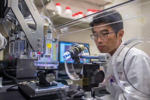 3D принтер тканей